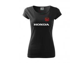 dámske tričko honda čierne 2