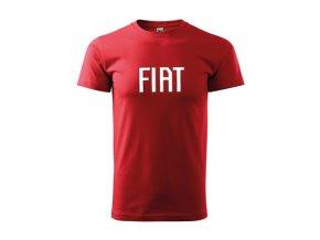 červené tričko fiat 2