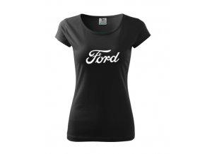 dámske tričko ford čierne 2