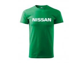 tričko nissan zelené