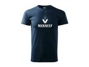 tmavomodré tričko renault