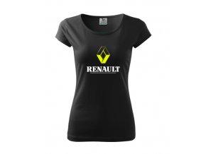 dámske tričko renault čierne 2