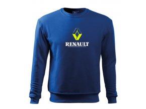 modrá mikina renault 2