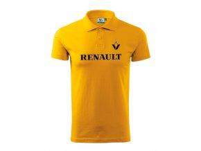polo renault žltá 2