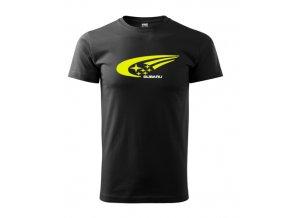 čierne tričko subaru 3