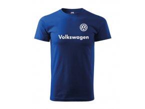 modré tričko volkswagen 2