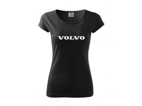 dámske tričko volvo čierne 2