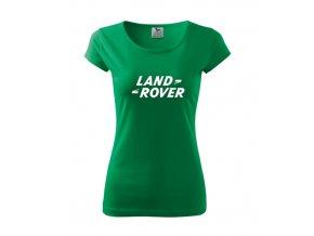 dámske tričko land zelené 2