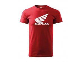 červené tričko honda
