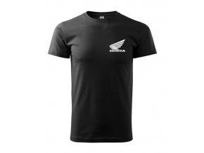 čierne tričko honda 2