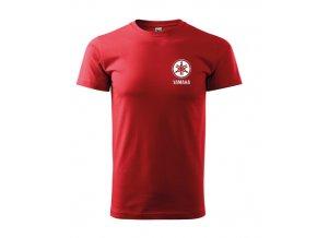 červené tričko yamaha 2