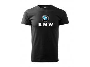 Čierne tričko BMW