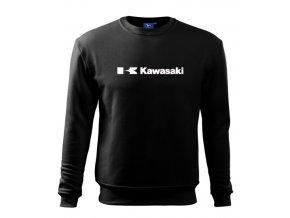 mikina čierna kawasaki 2