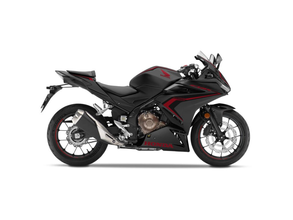 Honda CBR500R 2019 black 768x432