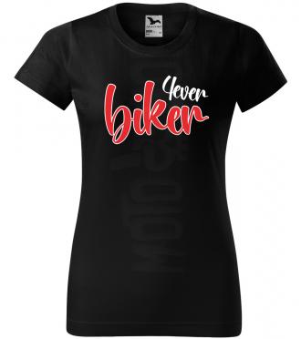 biker 4ever damske moto tricko kratky rukav cierne