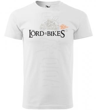 the lord of the bikes panske moto tricko kratky rukav biele