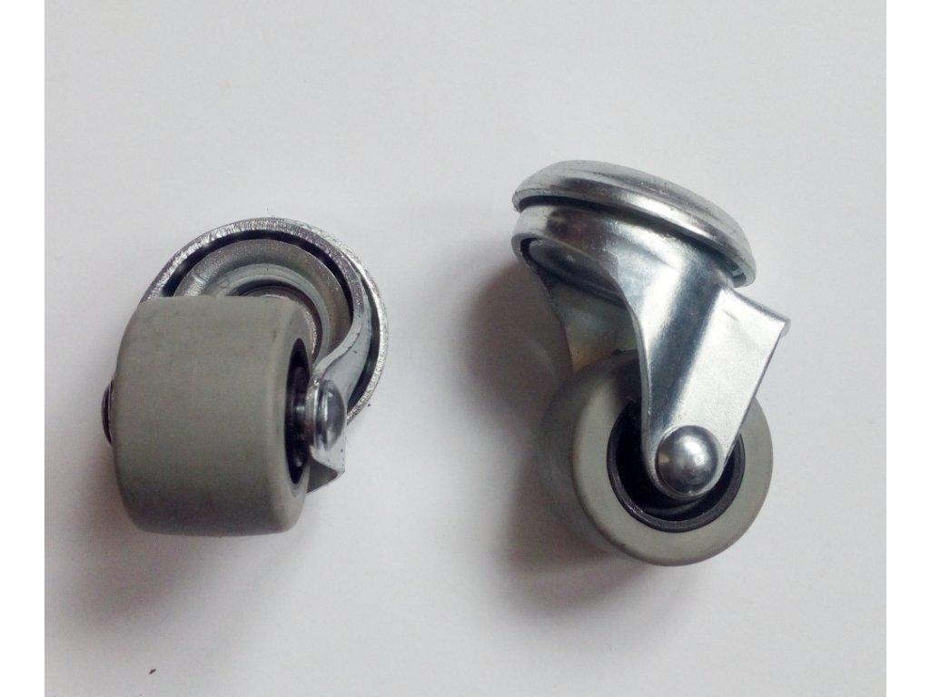 Kolečko pojezdu  gumové 30mm