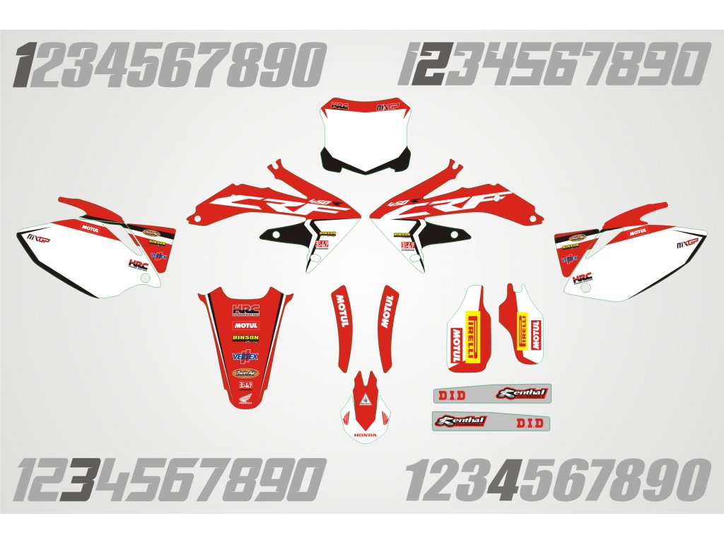 Honda polepy H002