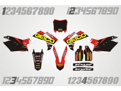 Honda polepy H001