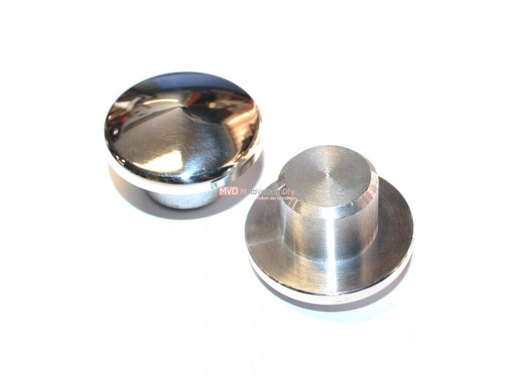 Zátky otvoru trubek zadních kluzáků - (Pérák, Čz 125/150 C) - 2. kusy