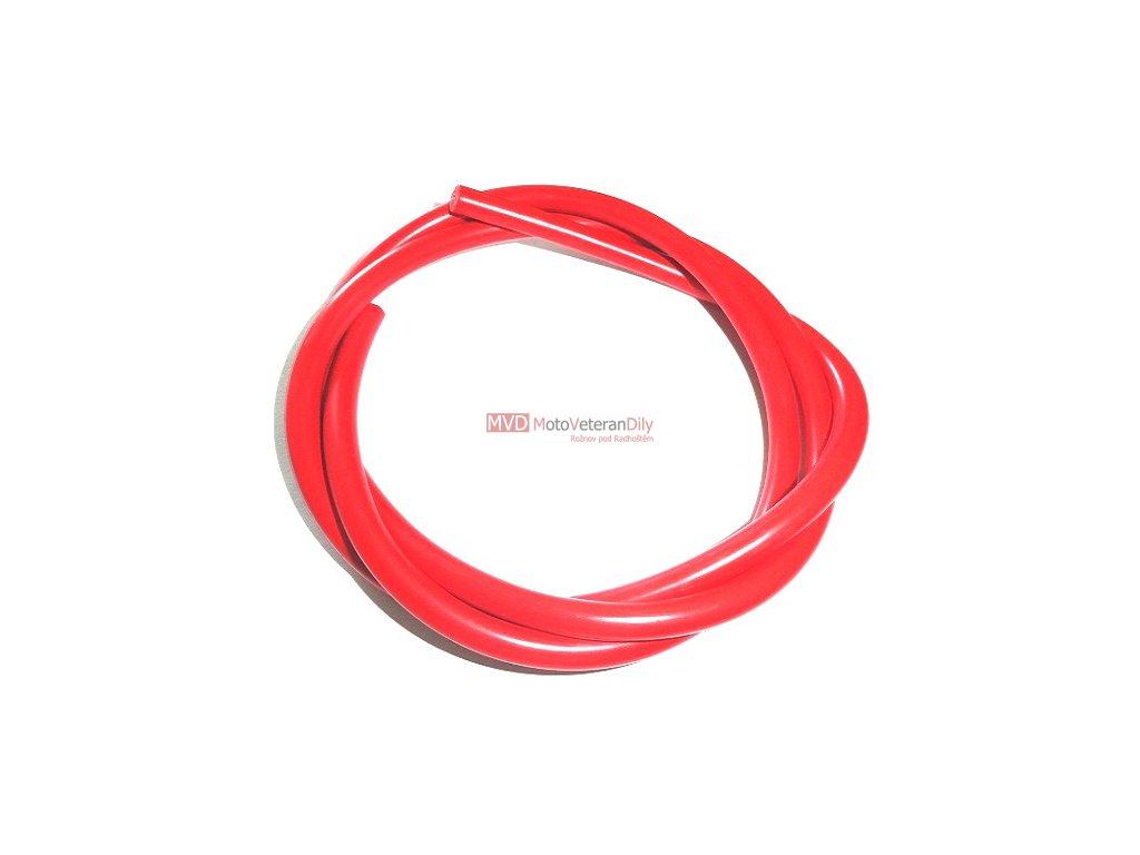 Kabel vysonapěťový 1metr - červený