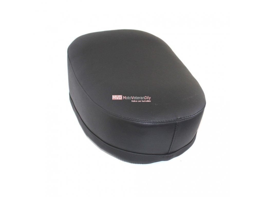 Sedadlo Jawa 550/555 - vyklápění dopředu - (černá matná koženka)