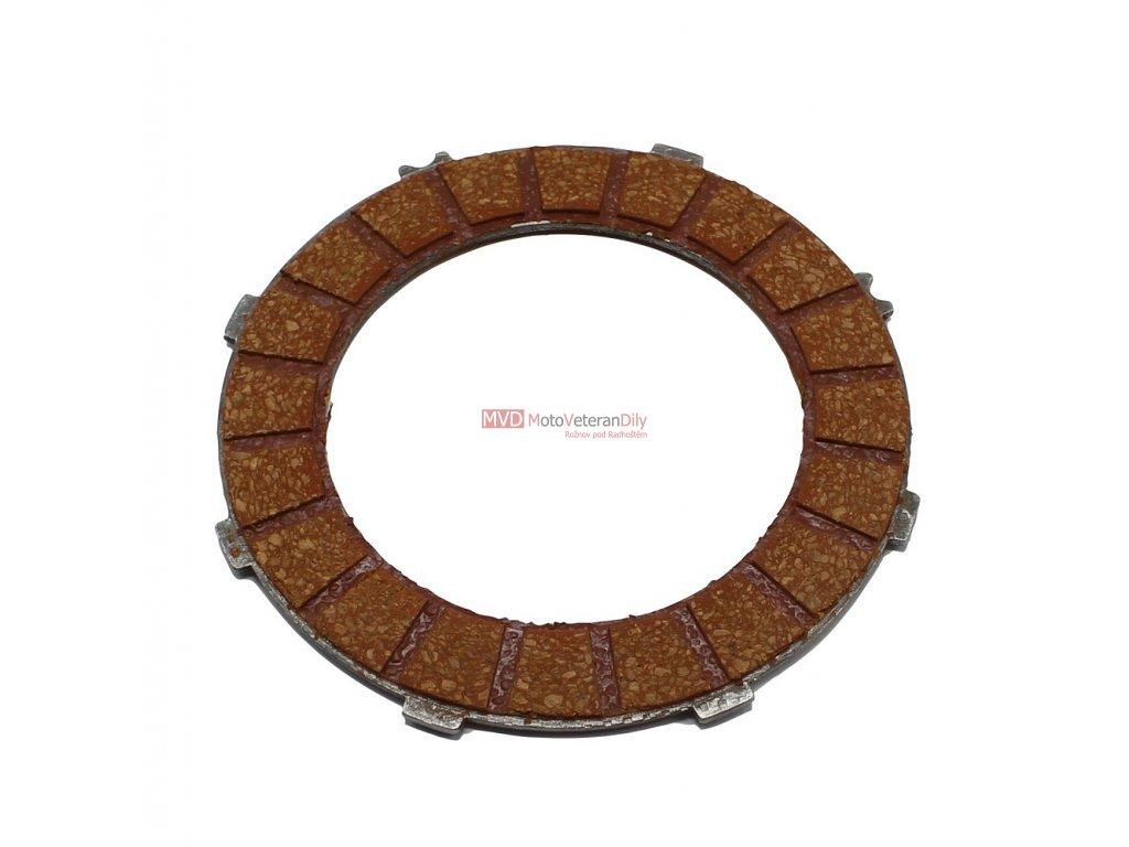 Lamela spojky Jawa - Čz 125, 175 ferodo