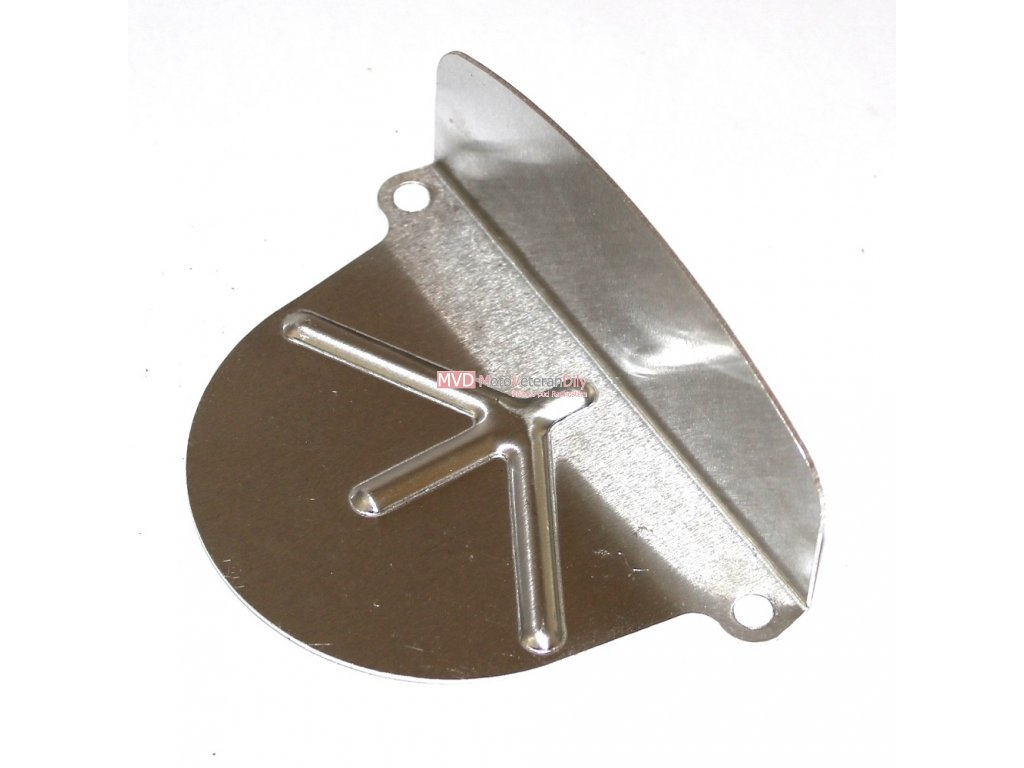 Kryt řetězového kolečka Stadion - pro plechové lisované víko (hliníkový)