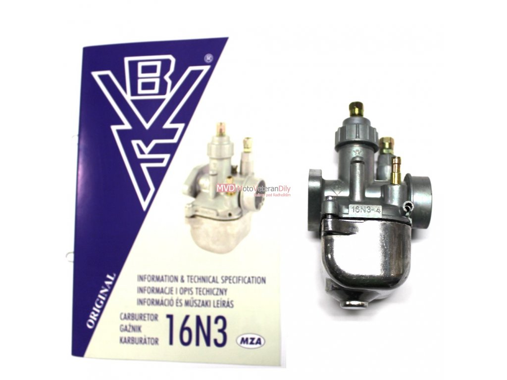 Karburátor Simson S51- 12V (typ 16N3)