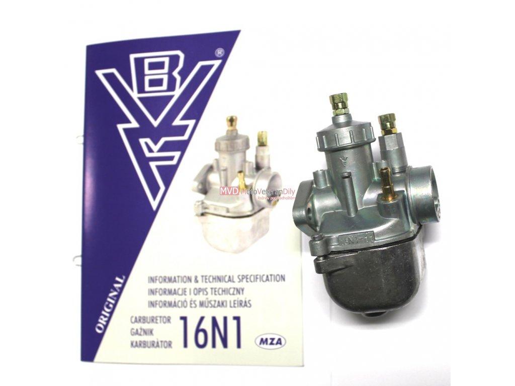 Karburátor Simson S51- 6V (typ 16N1-11)