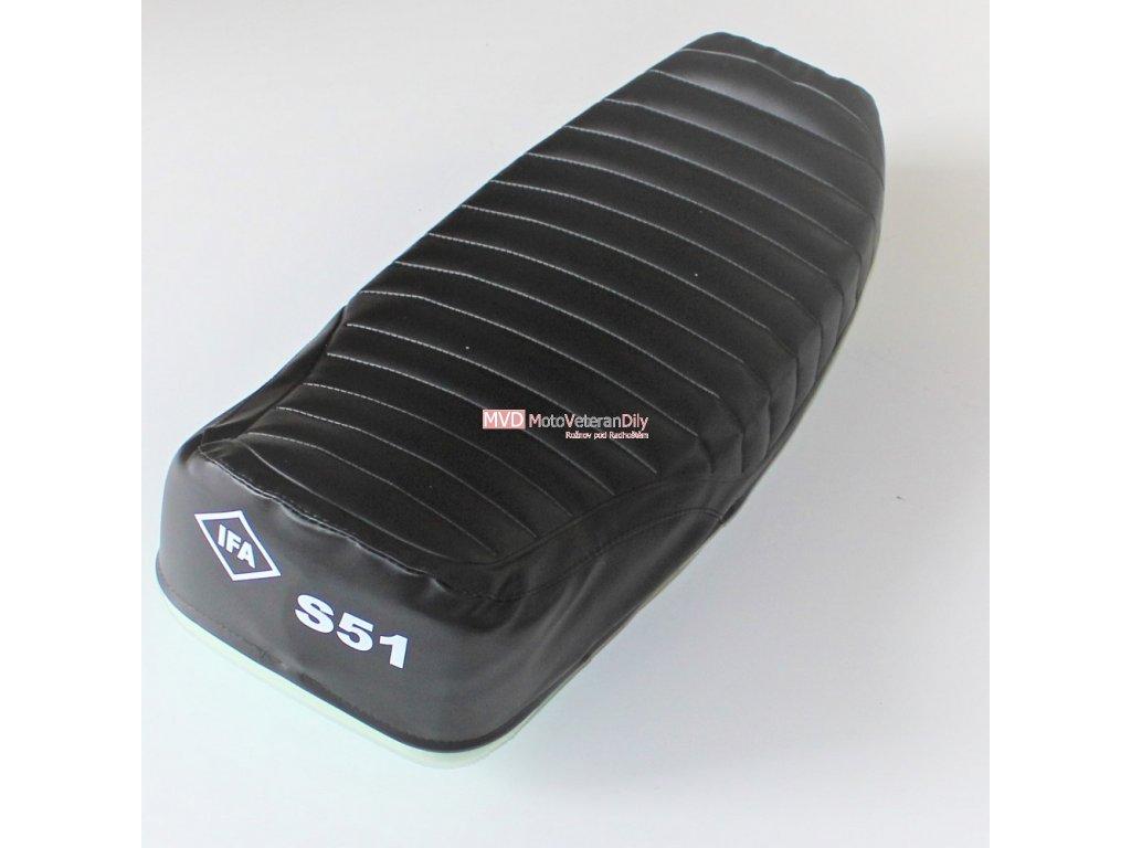Potah sedla Simson S51 - (s nápisem IFA S51)