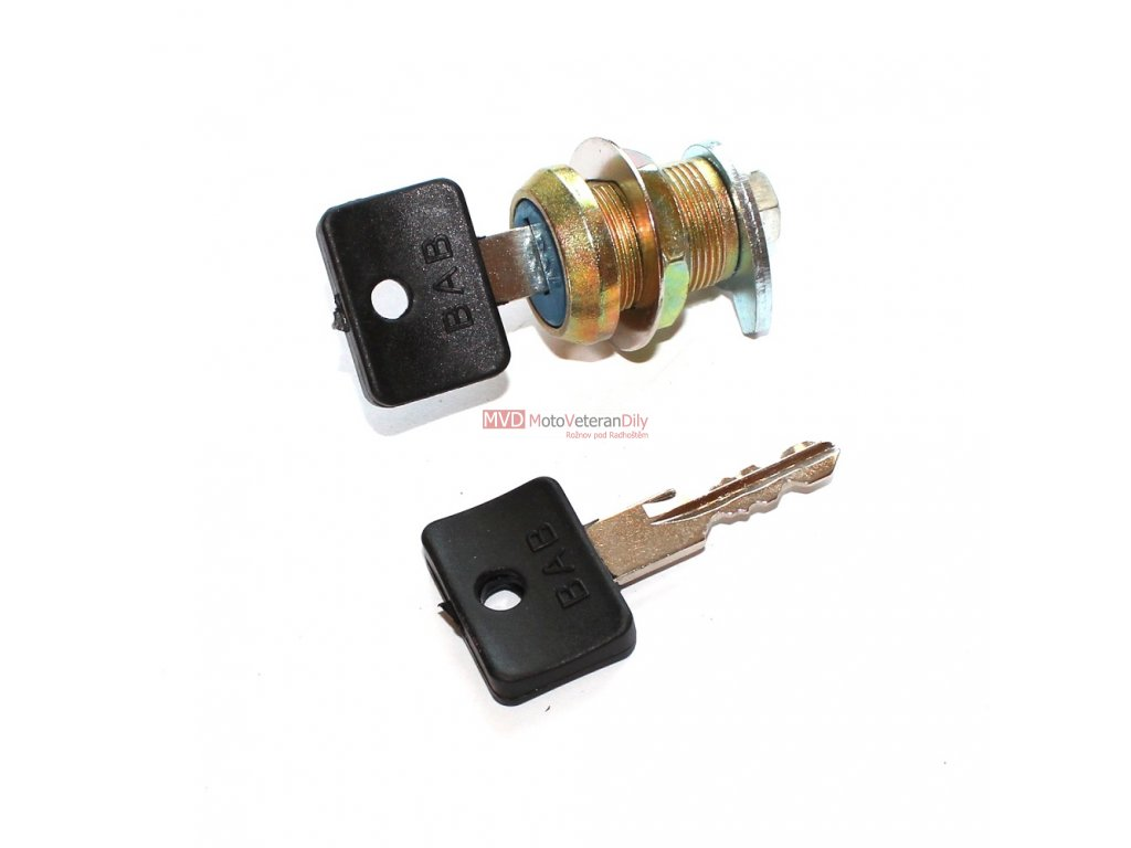 Zámek levé schránky Simson S51+ 2x klíček
