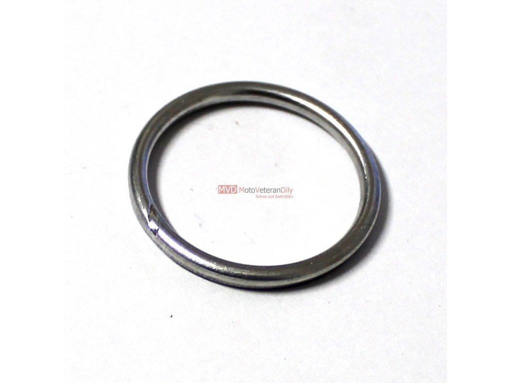 Těsnění výfukového kolene Simson S51 - (hliníkový kroužek)