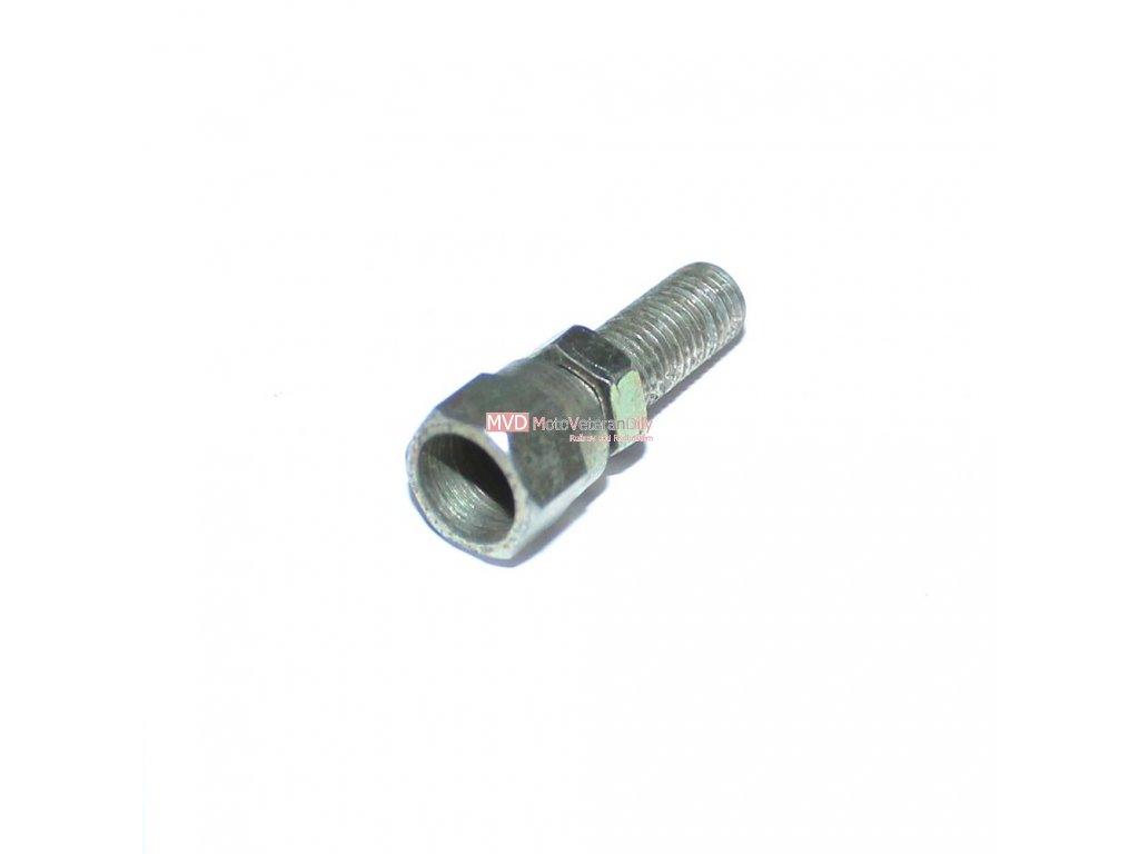 Šroubek do víčka šoupátka Simson S51 - (délka 26 mm)