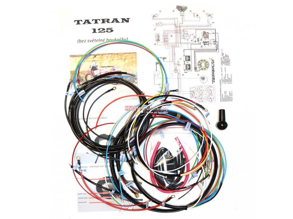 Kabeláž Tatran