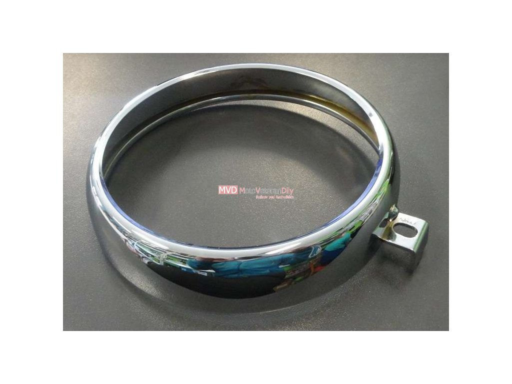 Rámeček předního světla - Manet 90 chromovaný
