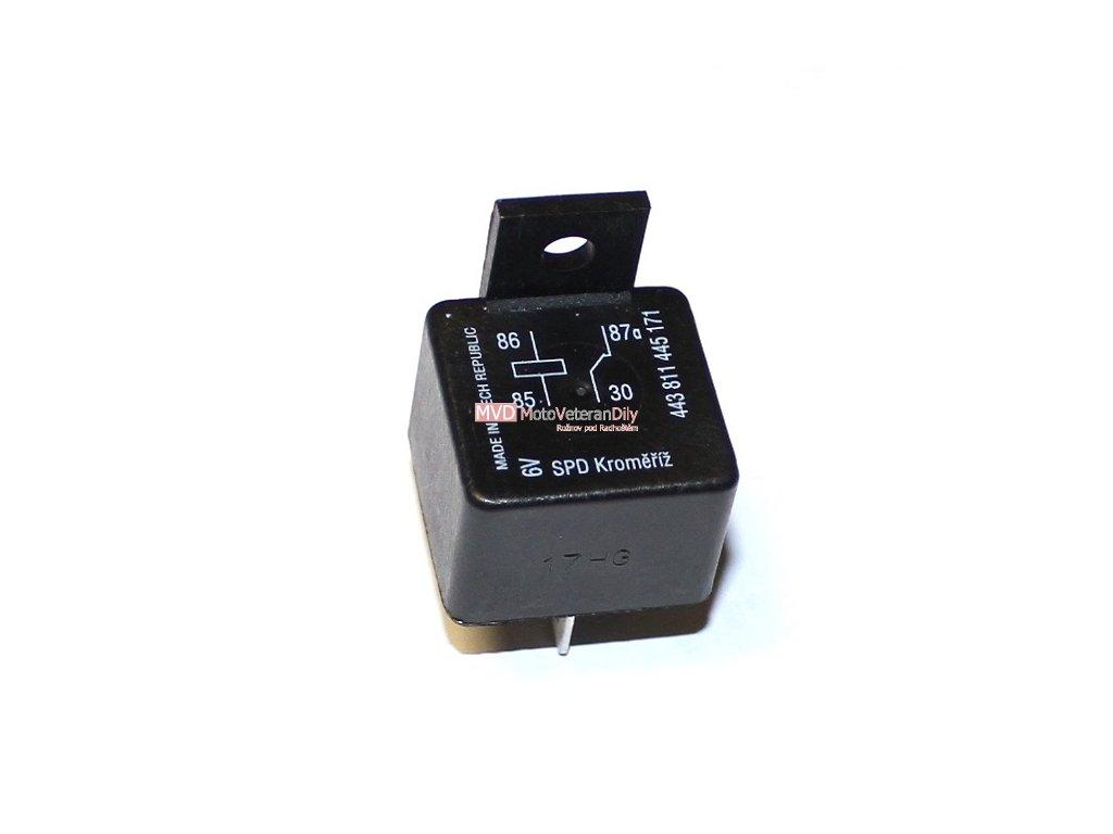 Relé rozpojovací - (k zapalování VAPE 6 Voltů)
