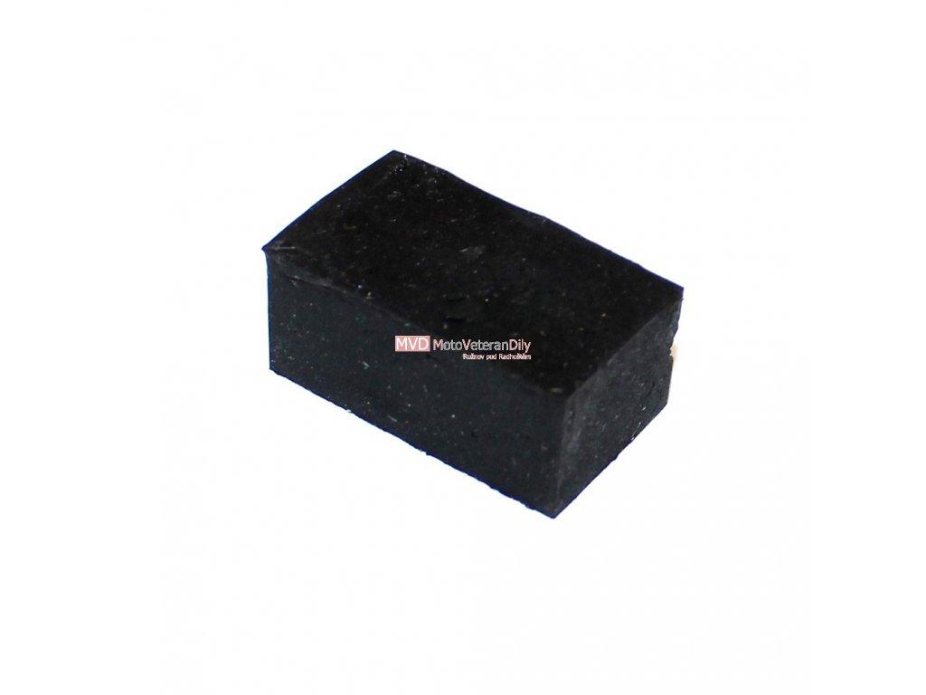 Gumový špalík do plechu sedačky Čz Skůtr