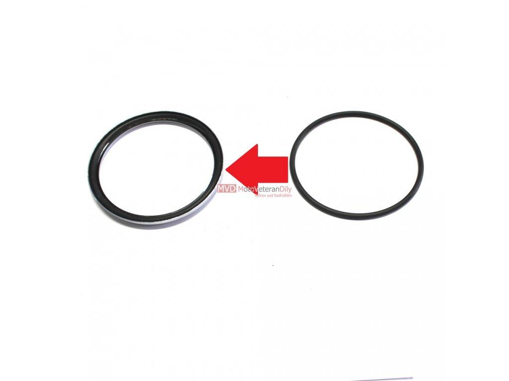 G. těsnění mezi sklo a rámeček tachometru - (mezityp, OHC 01)