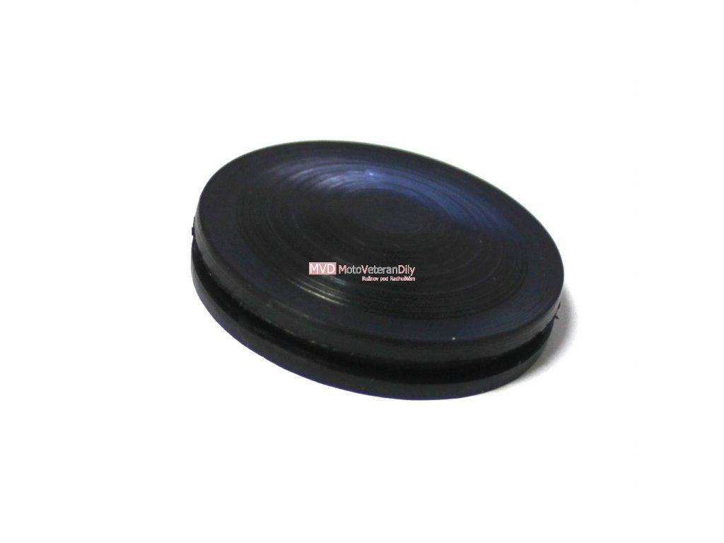Gumová krytka ložiska ventilátoru chlazení skutr ČZ