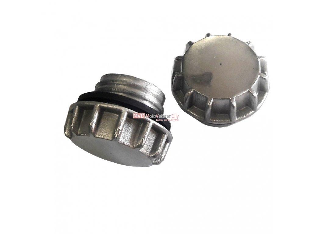 Víčko na nádrž Jawa 550/555 - hliníkové