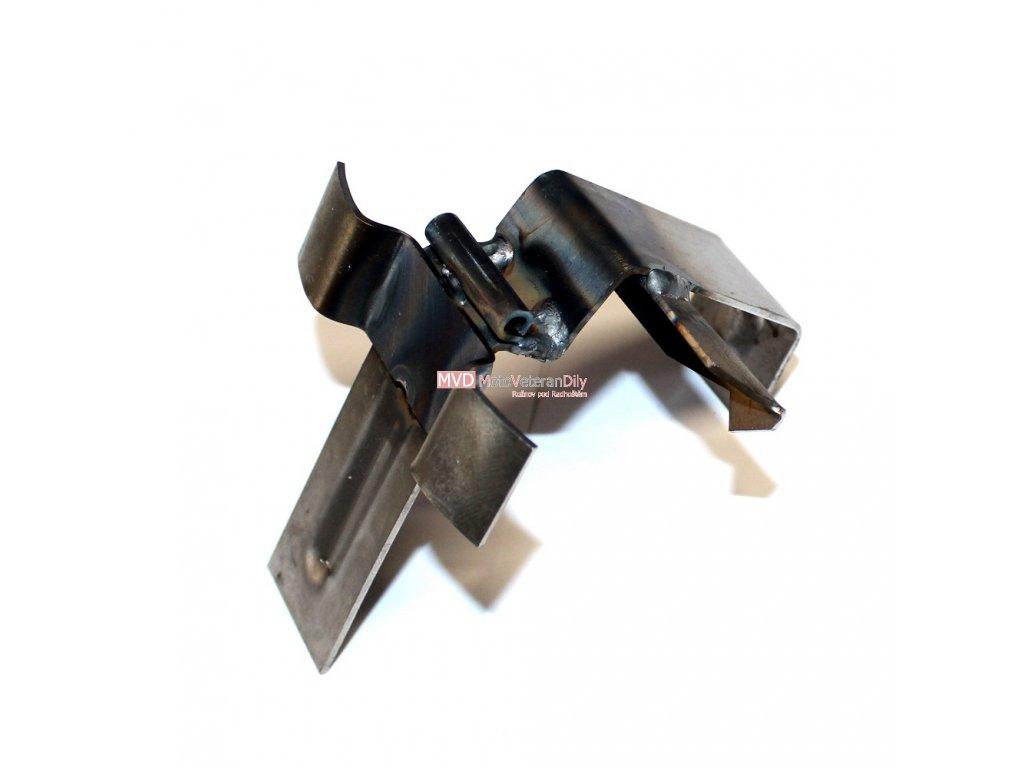Držák sedadla Jawa 550/555 s držákem hustilky - (vyklápění dopředu)