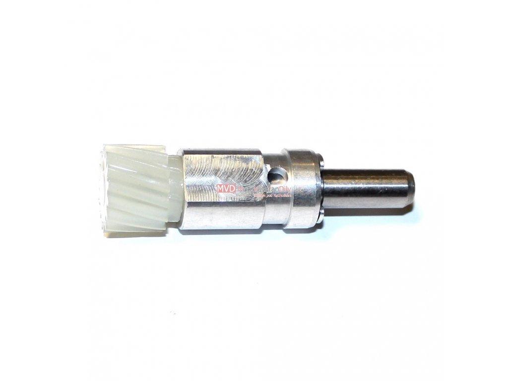 Pastorek pohonu rychloměru s pouzdrem 15 zubů - (Jawa 638 - 640)