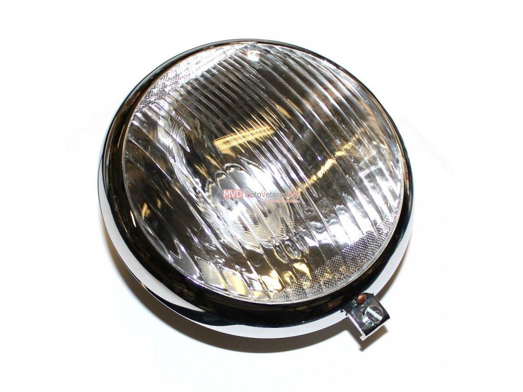 Lampa přední ČZ 125/150 - B,T,C - (chrom)