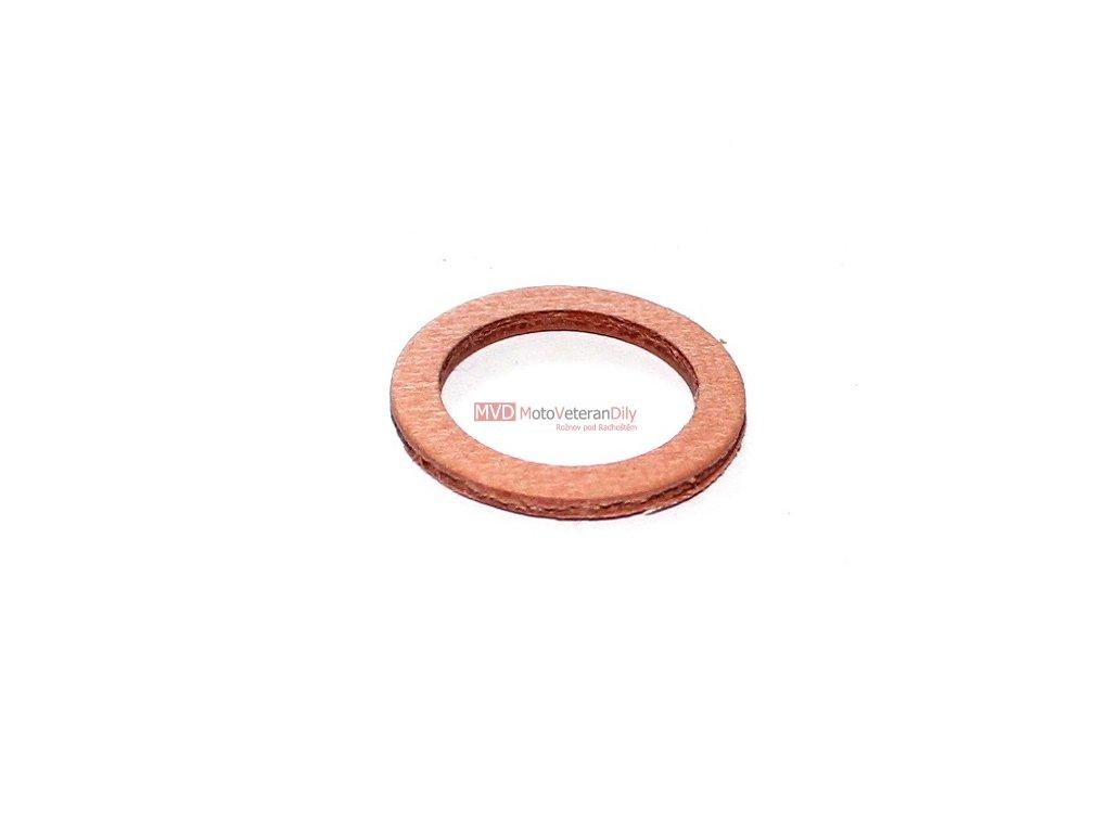 Těsnění palivového kohoutu - 14x20x1,5 - (fíbrové)