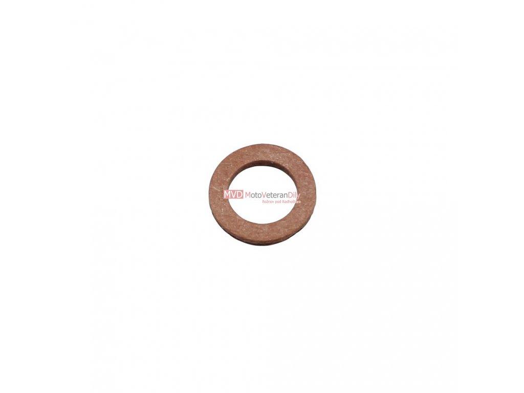 Těsnící fíbrová podložka kontrolního šroubu oleje 6x10x1