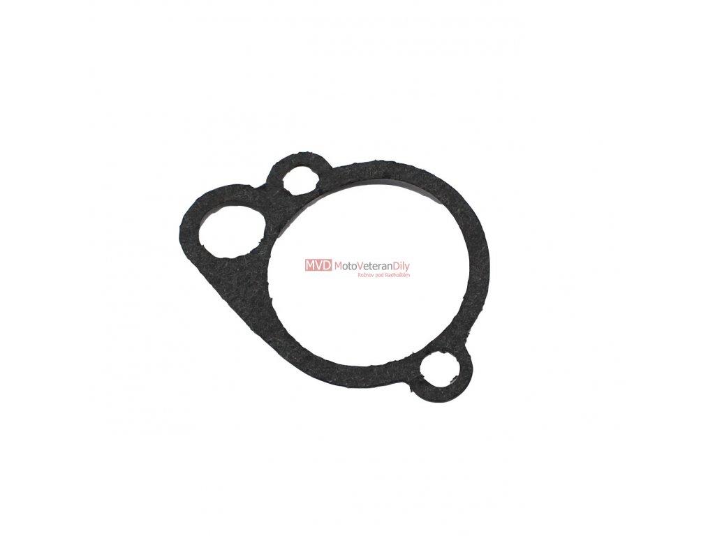 Těsnění plovákové komory Jawa 550 Pařez- levostraný karburátor