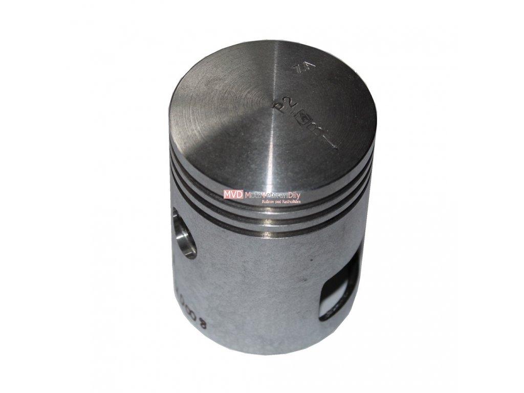 Píst Jawa 350 - 6 VOLTŮ - čep 16 mm - (PRAVÝ)