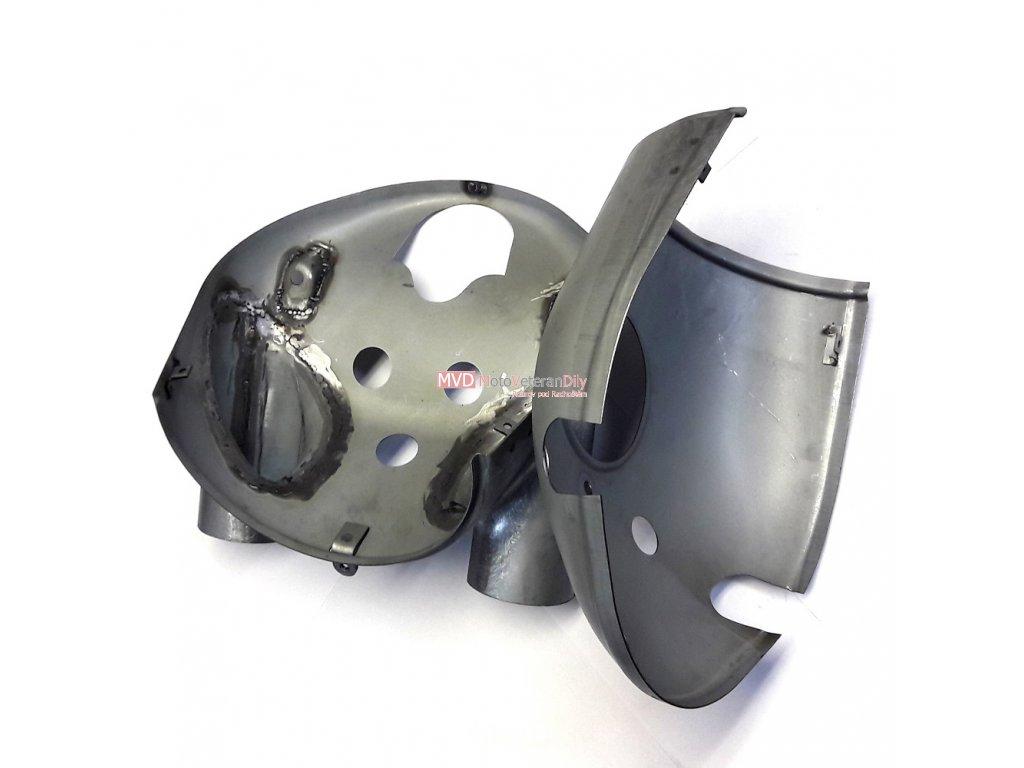 Masky Jawa 500 OHC 02 - (horní + spodní díl)