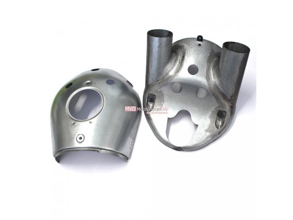 Masky Jawa 500 OHC 01 - (horní + spodní díl)
